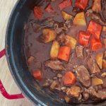 Irish Stew met rundvlees en Guinness