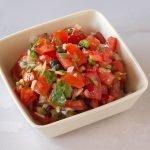 Zelfgemaakte Mexicaanse salsa