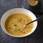 Soep met prei en aardappelen